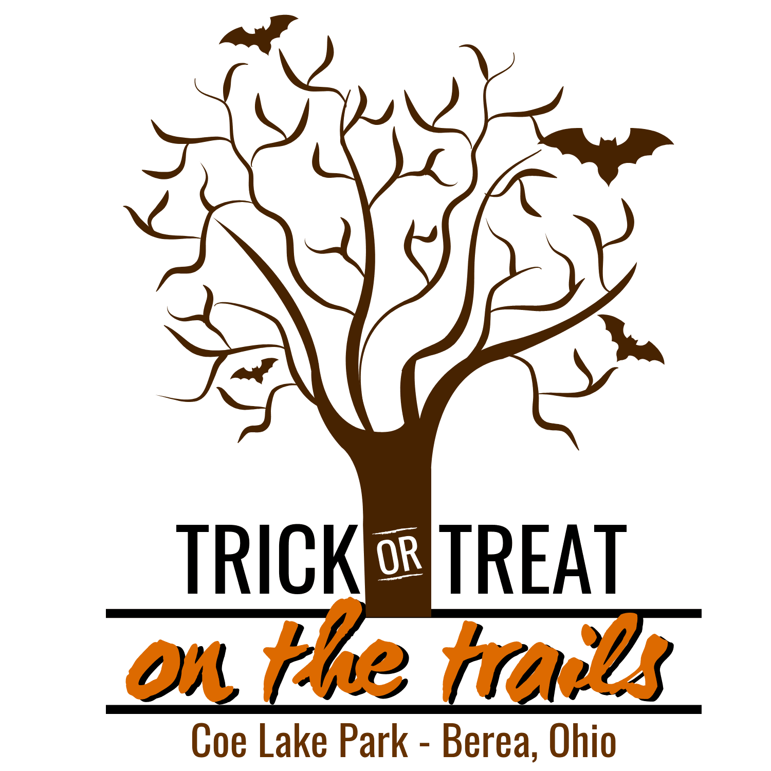 Trick or treat on the trails logo