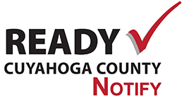 Ready Notify Logo - Cuyahoga County
