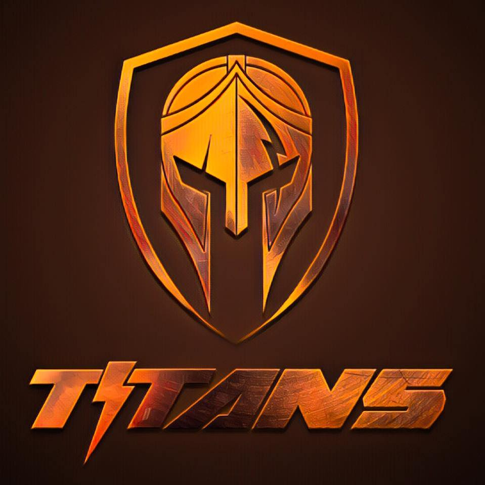 Groza Titans Football logo
