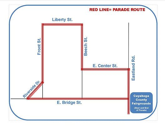 Grindstone Parade Route